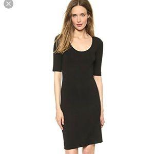 Diane von Furstenberg Raquel Black Dress SZ S